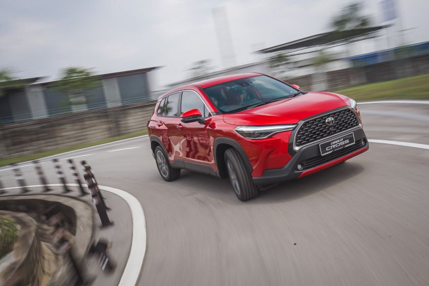 2021 Toyota Corolla Cross launched in Malaysia – two variants, 1.8L with 139 PS and 172 Nm, CVT; fr RM124k Image #1269408