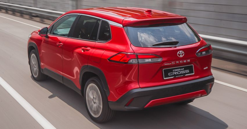2021 Toyota Corolla Cross launched in Malaysia – two variants, 1.8L with 139 PS and 172 Nm, CVT; fr RM124k Image #1269409