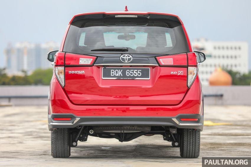 GALLERY: 2021 Toyota Innova 2.0X MPV – RM129,677 Image #1264715