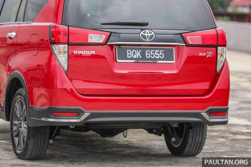 GALLERY: 2021 Toyota Innova 2.0X MPV – RM129,677 Image #1264728