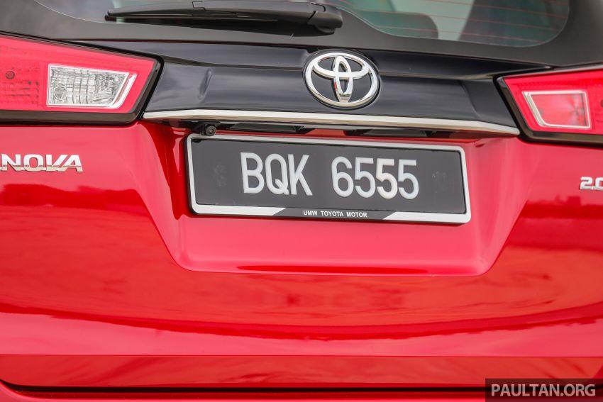 GALLERY: 2021 Toyota Innova 2.0X MPV – RM129,677 Image #1264732