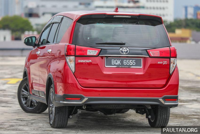 GALLERY: 2021 Toyota Innova 2.0X MPV – RM129,677 Image #1264708