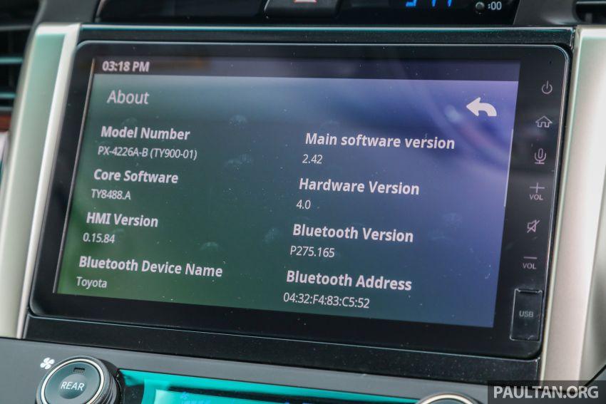 GALLERY: 2021 Toyota Innova 2.0X MPV – RM129,677 Image #1264773