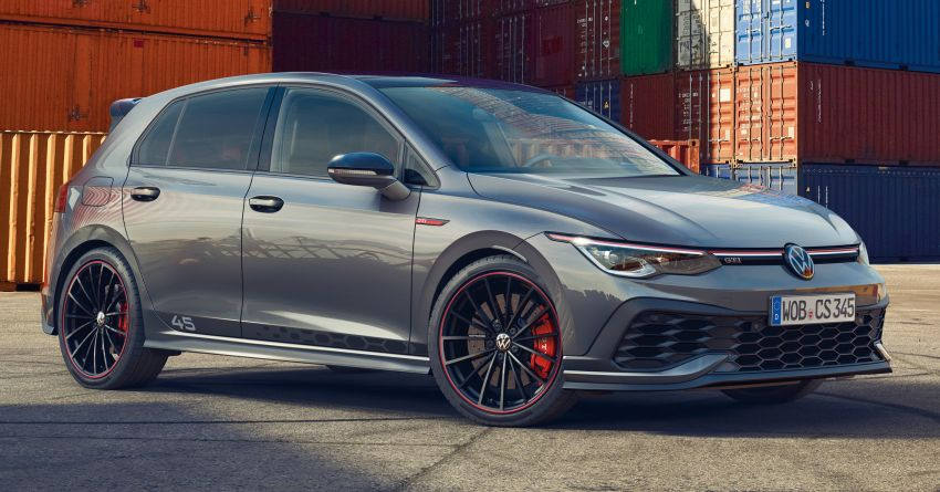 2021 Volkswagen Golf GTI Clubsport 45 debuts – new exclusive edition to celebrate the GTI's 45th birthday Image #1255589