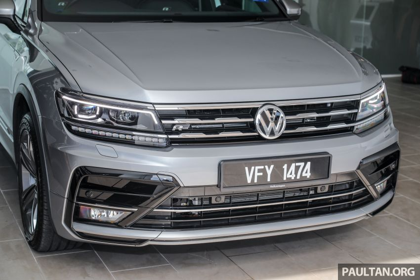 2021 Volkswagen Tiguan Allspace R-Line now in Malaysia – wireless Apple CarPlay, USB-C, same price Image #1260556