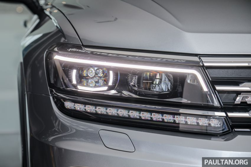 2021 Volkswagen Tiguan Allspace R-Line now in Malaysia – wireless Apple CarPlay, USB-C, same price Image #1260557