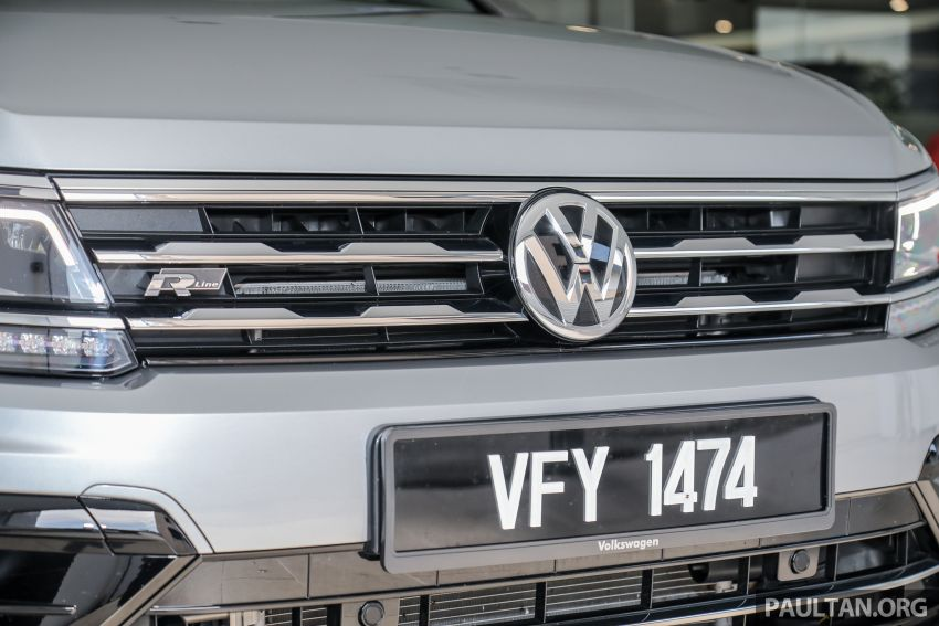 2021 Volkswagen Tiguan Allspace R-Line now in Malaysia – wireless Apple CarPlay, USB-C, same price Image #1260559