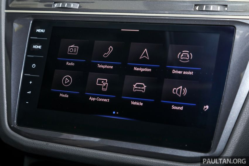 2021 Volkswagen Tiguan Allspace R-Line now in Malaysia – wireless Apple CarPlay, USB-C, same price Image #1260647