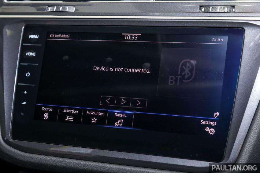 2021 Volkswagen Tiguan Allspace R-Line now in Malaysia – wireless Apple CarPlay, USB-C, same price Image #1260658