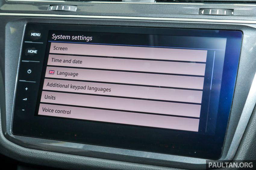 2021 Volkswagen Tiguan Allspace R-Line now in Malaysia – wireless Apple CarPlay, USB-C, same price Image #1260667