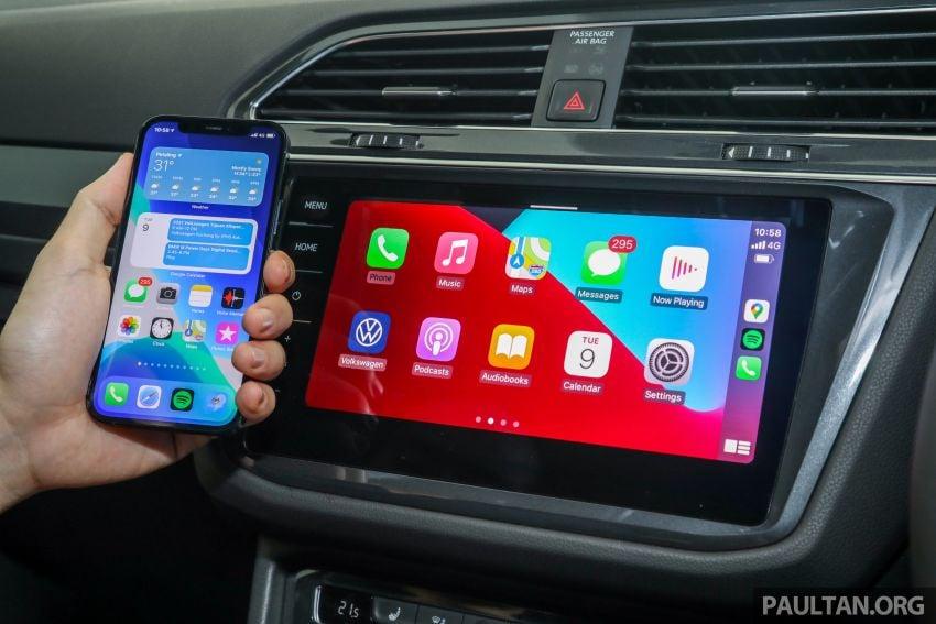 2021 Volkswagen Tiguan Allspace R-Line now in Malaysia – wireless Apple CarPlay, USB-C, same price Image #1260692