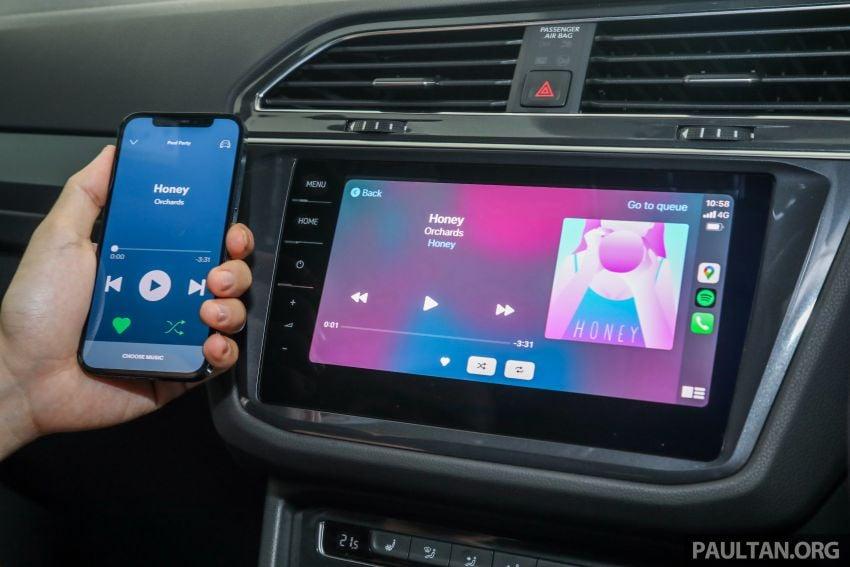 2021 Volkswagen Tiguan Allspace R-Line now in Malaysia – wireless Apple CarPlay, USB-C, same price Image #1260694