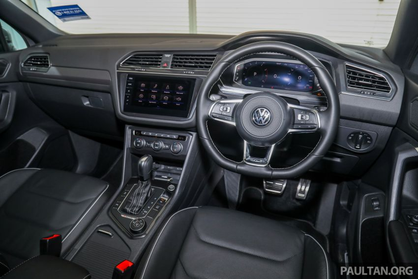2021 Volkswagen Tiguan Allspace R-Line now in Malaysia – wireless Apple CarPlay, USB-C, same price Image #1260725