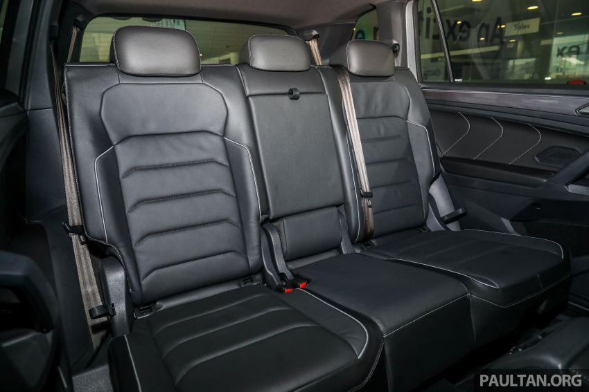 2021 Volkswagen Tiguan Allspace R-Line now in Malaysia – wireless Apple CarPlay, USB-C, same price Image #1260757