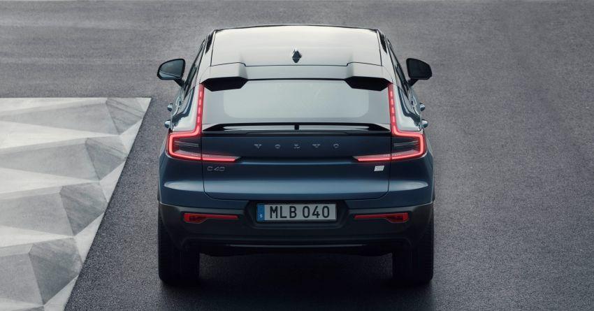 Volvo C40 Recharge didedahkan – SUV Coupe elektrik sepenuhnya, P8 AWD berkuasa 408 PS/660 Nm! Image #1256596