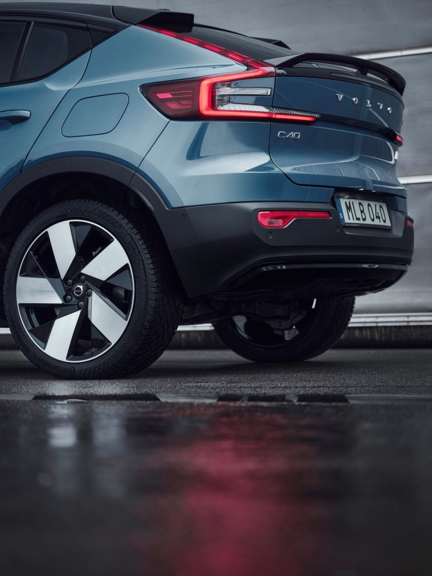 2021 Volvo C40 Recharge unveiled – pure electric only, dual-motor P8 AWD with 408 PS, 660 Nm; 420 km range Image #1256529