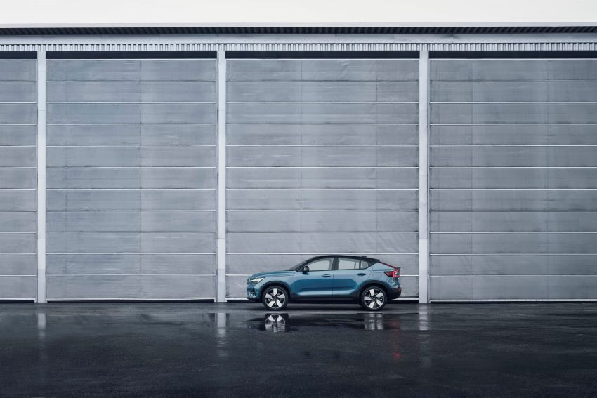 2021 Volvo C40 Recharge unveiled – pure electric only, dual-motor P8 AWD with 408 PS, 660 Nm; 420 km range Image #1256531