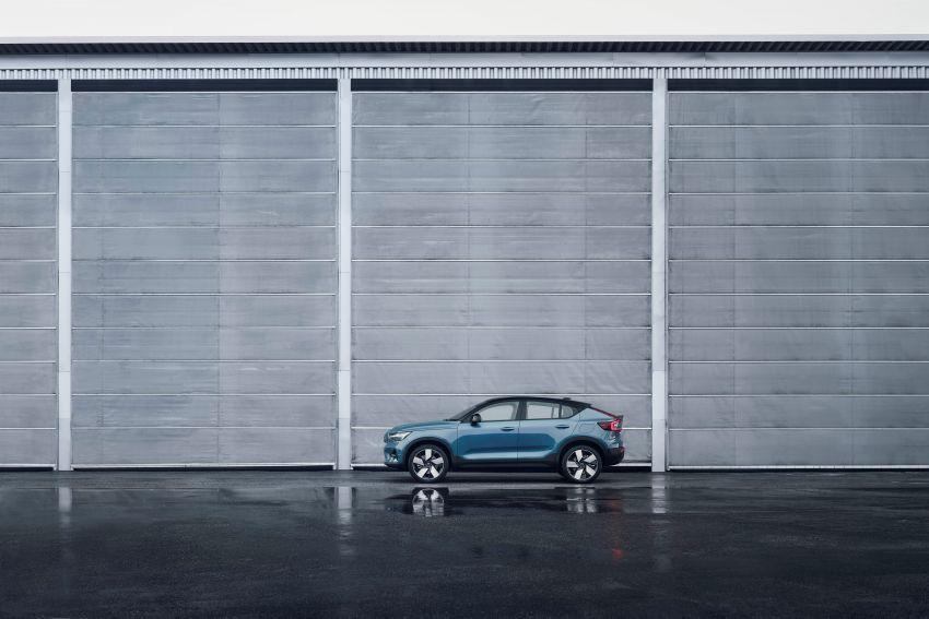 Volvo C40 Recharge didedahkan – SUV Coupe elektrik sepenuhnya, P8 AWD berkuasa 408 PS/660 Nm! Image #1256599