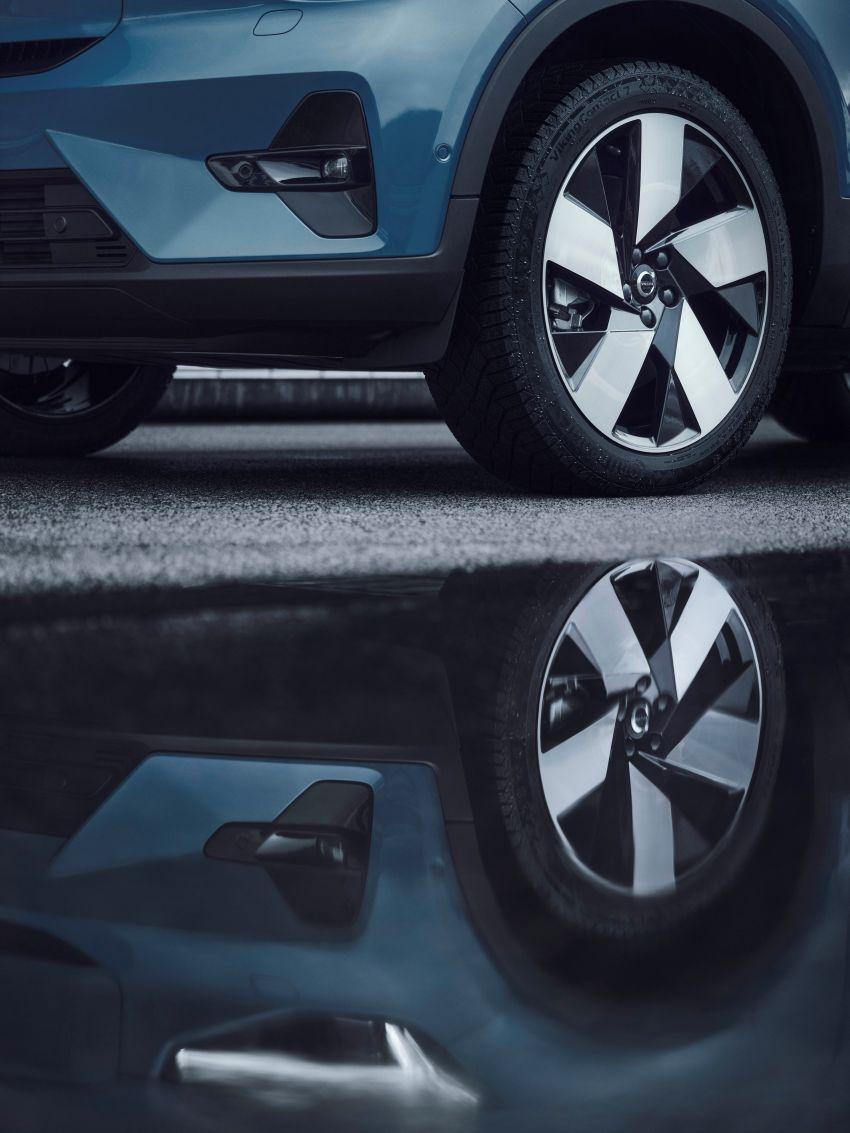 Volvo C40 Recharge didedahkan – SUV Coupe elektrik sepenuhnya, P8 AWD berkuasa 408 PS/660 Nm! Image #1256603