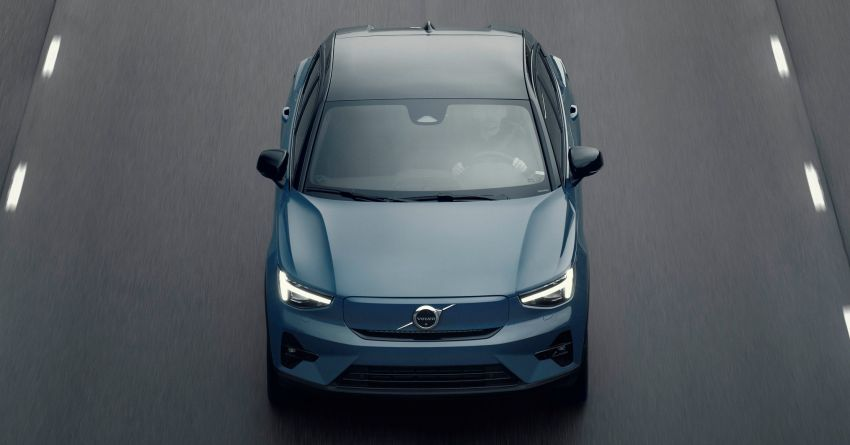 2021 Volvo C40 Recharge unveiled – pure electric only, dual-motor P8 AWD with 408 PS, 660 Nm; 420 km range Image #1256536