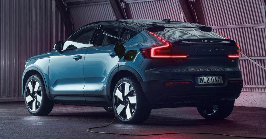 Volvo C40 Recharge didedahkan – SUV Coupe elektrik sepenuhnya, P8 AWD berkuasa 408 PS/660 Nm! Image #1256607