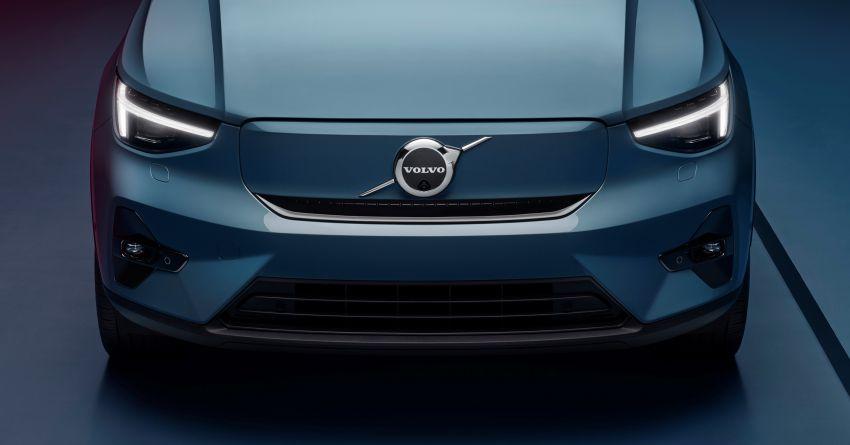 Volvo C40 Recharge didedahkan – SUV Coupe elektrik sepenuhnya, P8 AWD berkuasa 408 PS/660 Nm! Image #1256609