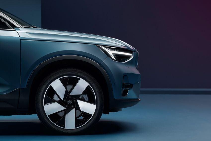 Volvo C40 Recharge didedahkan – SUV Coupe elektrik sepenuhnya, P8 AWD berkuasa 408 PS/660 Nm! Image #1256610