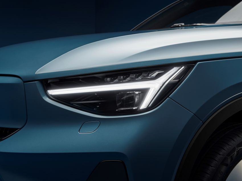 2021 Volvo C40 Recharge unveiled – pure electric only, dual-motor P8 AWD with 408 PS, 660 Nm; 420 km range Image #1256547