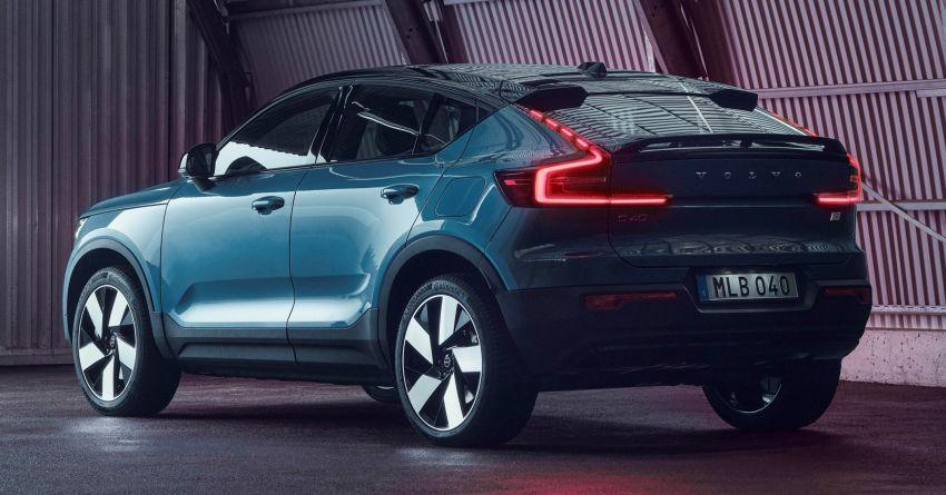 Volvo C40 Recharge didedahkan – SUV Coupe elektrik sepenuhnya, P8 AWD berkuasa 408 PS/660 Nm! Image #1256588