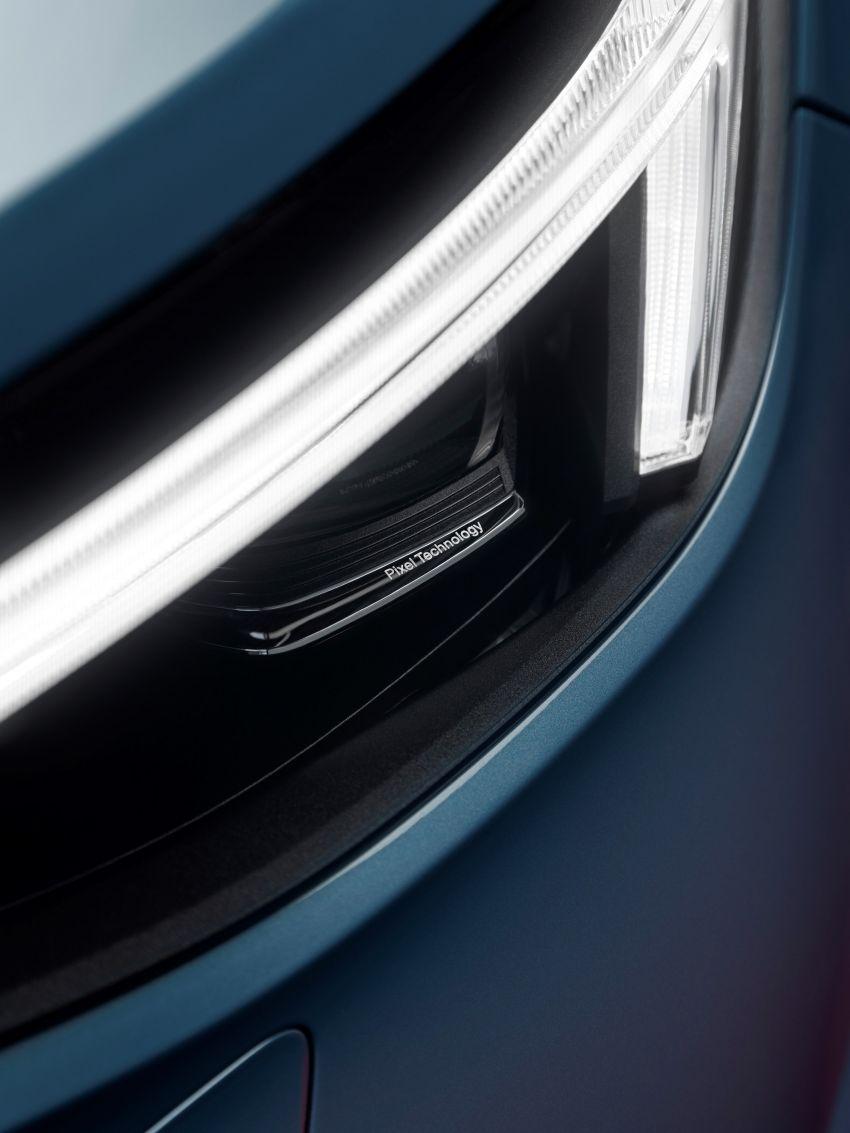 Volvo C40 Recharge didedahkan – SUV Coupe elektrik sepenuhnya, P8 AWD berkuasa 408 PS/660 Nm! Image #1256621