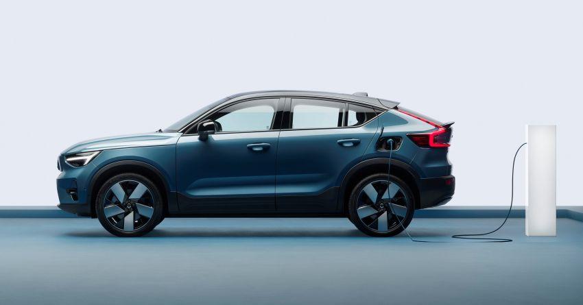 Volvo C40 Recharge didedahkan – SUV Coupe elektrik sepenuhnya, P8 AWD berkuasa 408 PS/660 Nm! Image #1256624