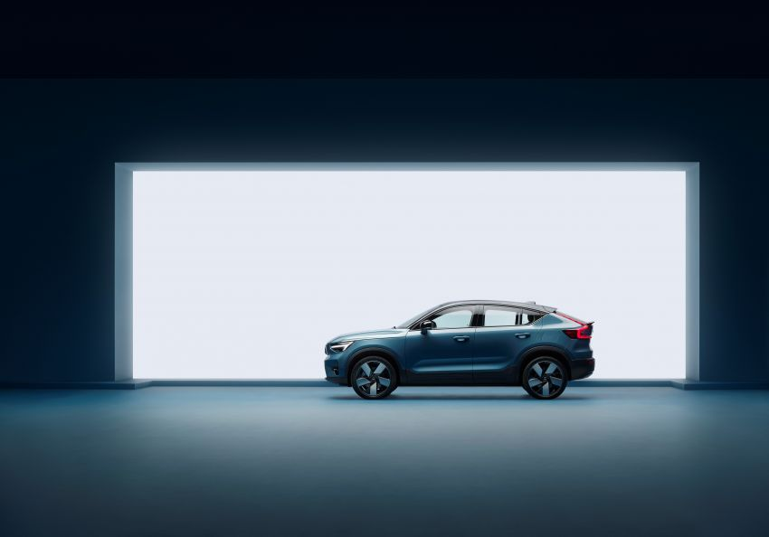 2021 Volvo C40 Recharge unveiled – pure electric only, dual-motor P8 AWD with 408 PS, 660 Nm; 420 km range Image #1256557
