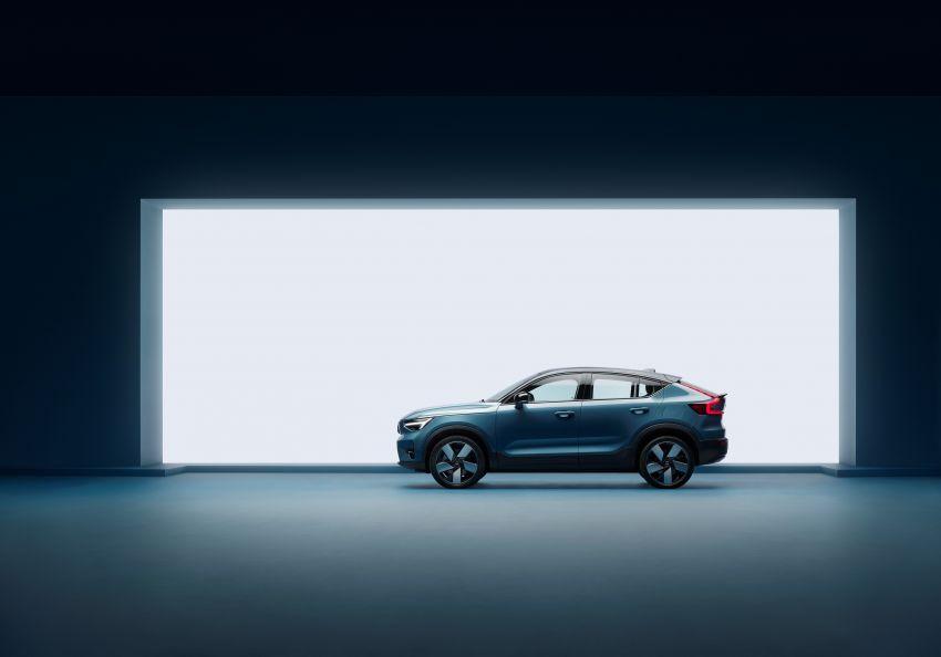 Volvo C40 Recharge didedahkan – SUV Coupe elektrik sepenuhnya, P8 AWD berkuasa 408 PS/660 Nm! Image #1256625