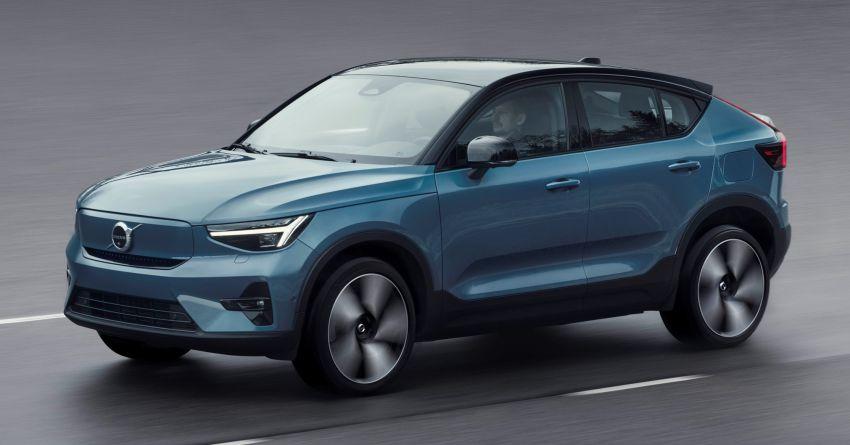 Volvo C40 Recharge didedahkan – SUV Coupe elektrik sepenuhnya, P8 AWD berkuasa 408 PS/660 Nm! Image #1256589