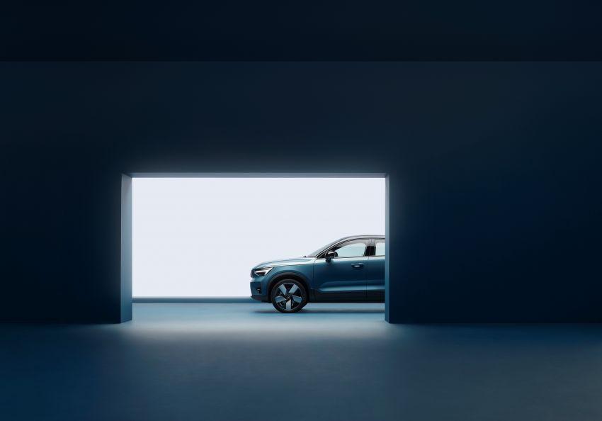 Volvo C40 Recharge didedahkan – SUV Coupe elektrik sepenuhnya, P8 AWD berkuasa 408 PS/660 Nm! Image #1256626