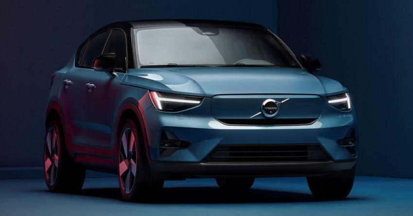 Volvo C40 Recharge didedahkan – SUV Coupe elektrik sepenuhnya, P8 AWD berkuasa 408 PS/660 Nm! Image #1256629