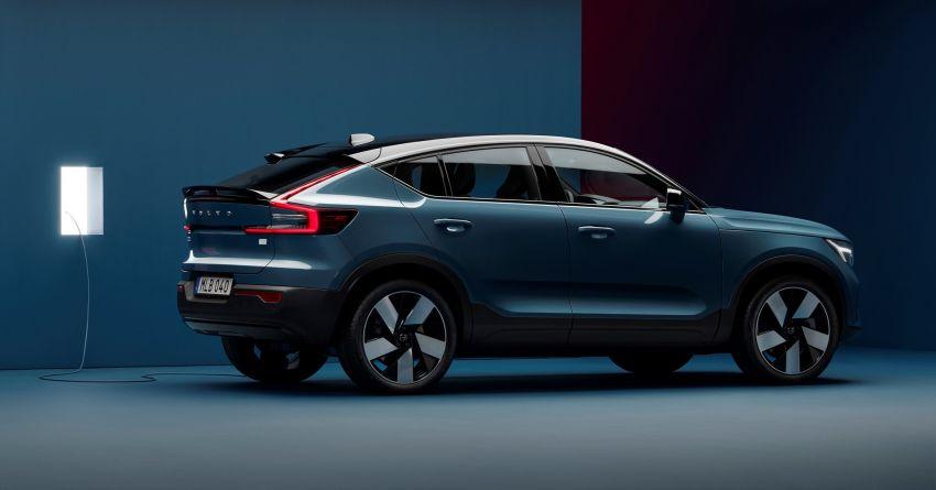 Volvo C40 Recharge didedahkan – SUV Coupe elektrik sepenuhnya, P8 AWD berkuasa 408 PS/660 Nm! Image #1256630