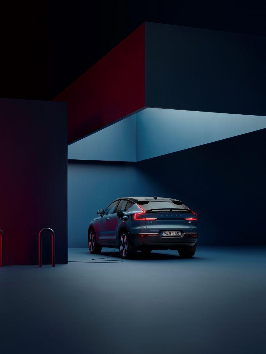 Volvo C40 Recharge didedahkan – SUV Coupe elektrik sepenuhnya, P8 AWD berkuasa 408 PS/660 Nm! Image #1256631