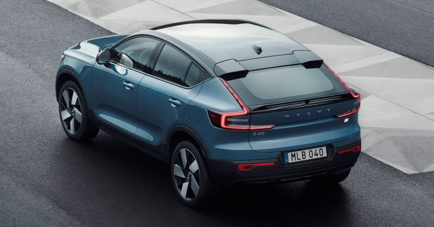 2021 Volvo C40 Recharge unveiled – pure electric only, dual-motor P8 AWD with 408 PS, 660 Nm; 420 km range Image #1256523