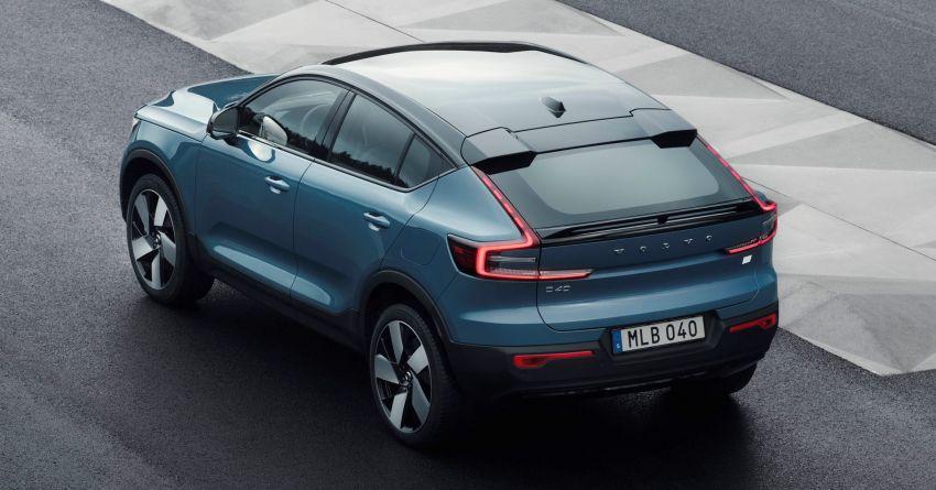 Volvo C40 Recharge didedahkan – SUV Coupe elektrik sepenuhnya, P8 AWD berkuasa 408 PS/660 Nm! Image #1256591