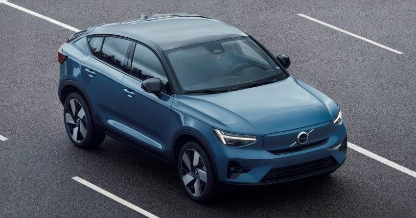 Volvo C40 Recharge didedahkan – SUV Coupe elektrik sepenuhnya, P8 AWD berkuasa 408 PS/660 Nm! Image #1256592