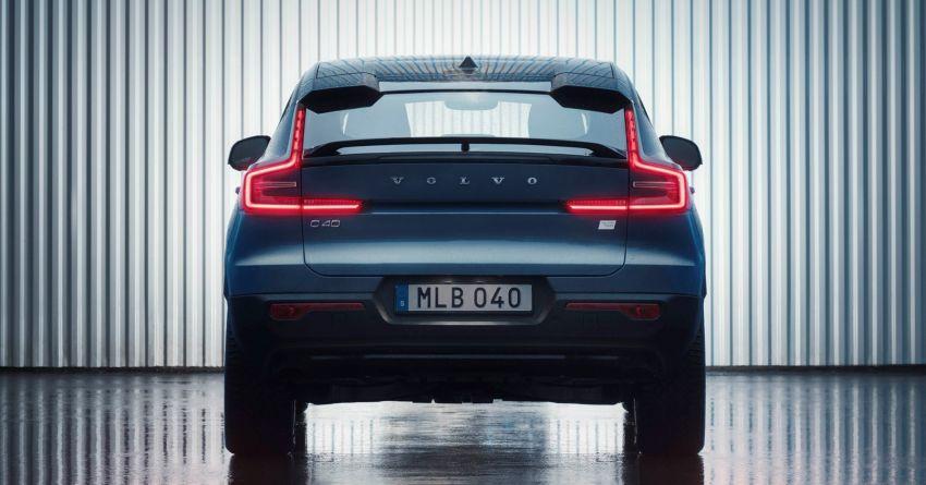 Volvo C40 Recharge didedahkan – SUV Coupe elektrik sepenuhnya, P8 AWD berkuasa 408 PS/660 Nm! Image #1256594