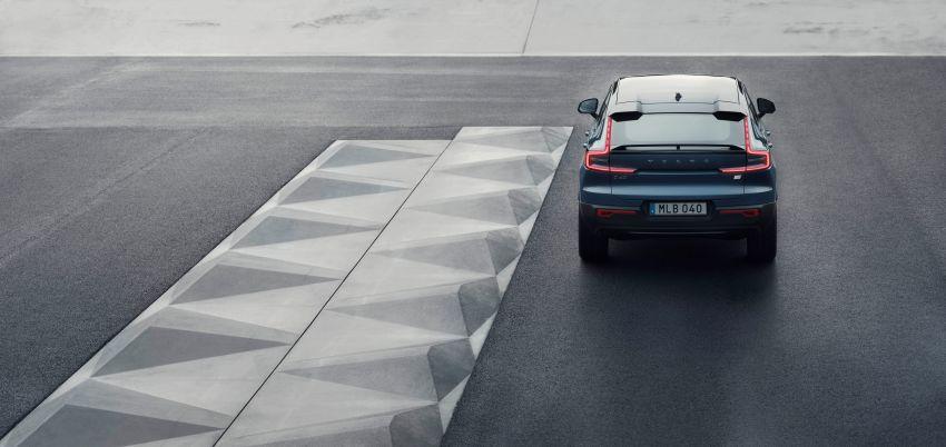Volvo C40 Recharge didedahkan – SUV Coupe elektrik sepenuhnya, P8 AWD berkuasa 408 PS/660 Nm! Image #1256595