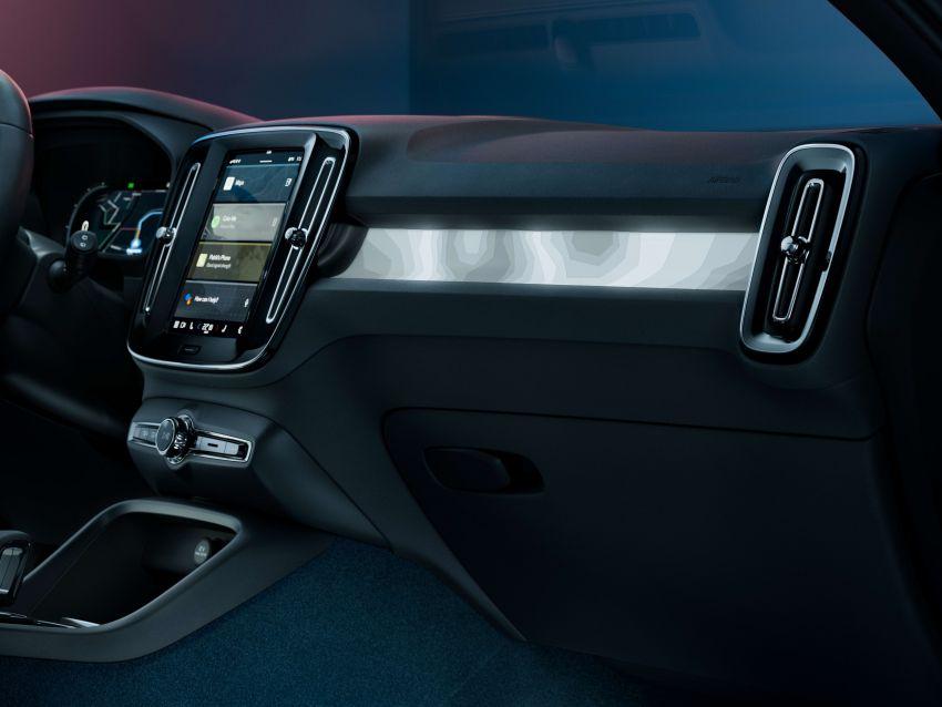 Volvo C40 Recharge didedahkan – SUV Coupe elektrik sepenuhnya, P8 AWD berkuasa 408 PS/660 Nm! Image #1256632