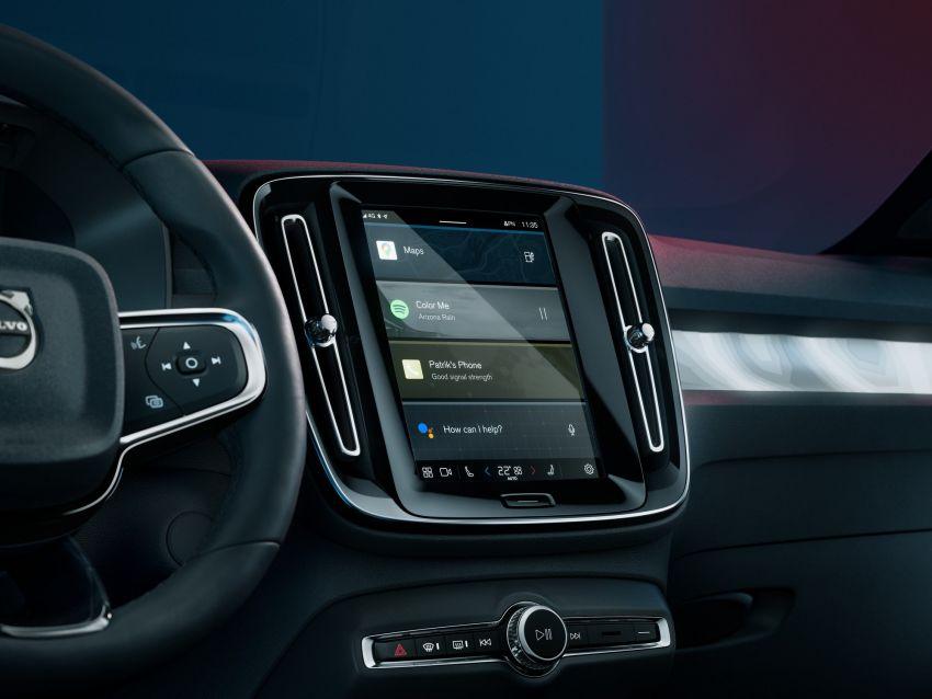Volvo C40 Recharge didedahkan – SUV Coupe elektrik sepenuhnya, P8 AWD berkuasa 408 PS/660 Nm! Image #1256640