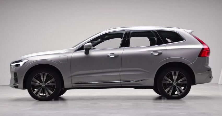 2022 Volvo XC60 gets updated with new styling, kit Image #1257943