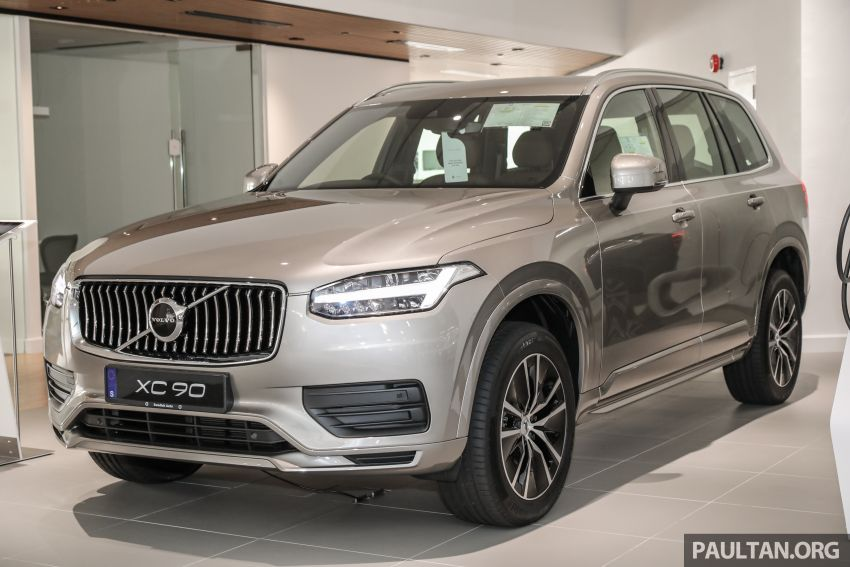 2021 Volvo XC90 – new Recharge T8 badging for PHEV, wireless charger, USB-C ports; no more Inscription Image #1255896