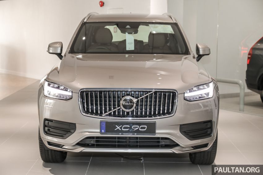 2021 Volvo XC90 – new Recharge T8 badging for PHEV, wireless charger, USB-C ports; no more Inscription Image #1255900
