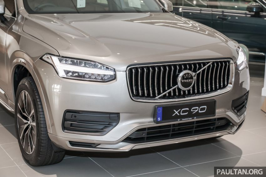 2021 Volvo XC90 – new Recharge T8 badging for PHEV, wireless charger, USB-C ports; no more Inscription Image #1255902