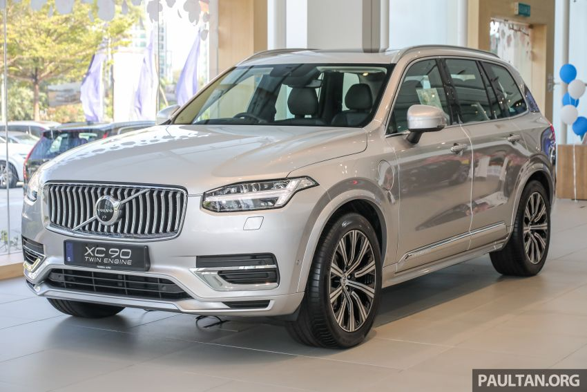 2021 Volvo XC90 – new Recharge T8 badging for PHEV, wireless charger, USB-C ports; no more Inscription Image #1255917